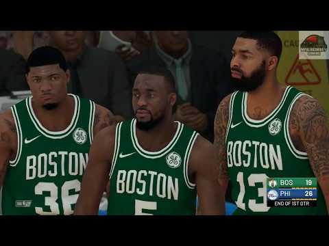 Kemba Walker Makes His Celtics Debut vs 76ers !!!!!!!