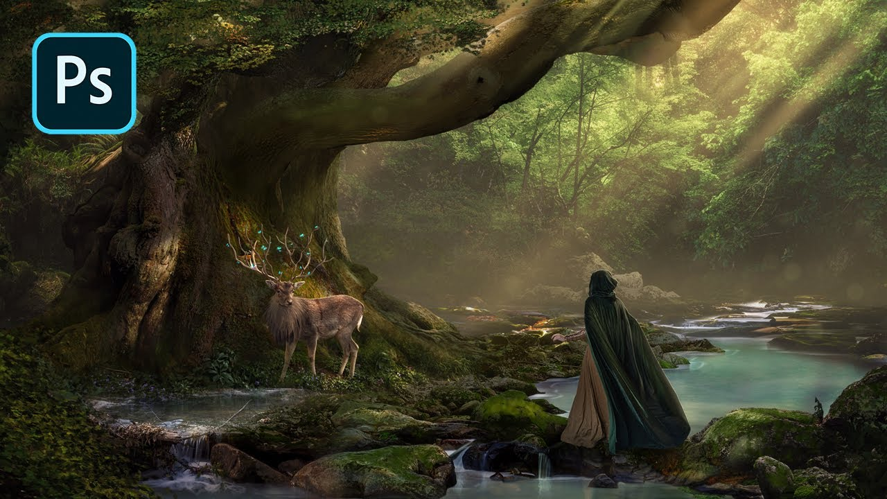 Fantasy Forest – Photoshop Manipulation Tutorial