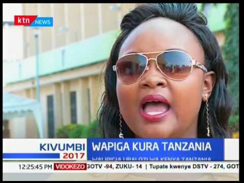 Wakenya nchini Tanzania wapiga kura zao katika ubalozi wa Kenya jijini Dar-es-Salaam