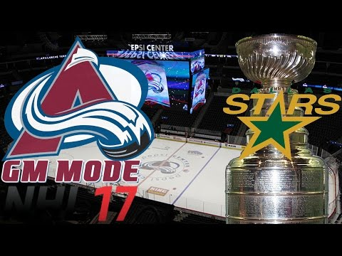 Western Conference Finals Dallas - NHL 17 - GM Mode Commentary - Colorado ep. 30