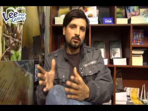 Andrey Quiñones presenta su novela
