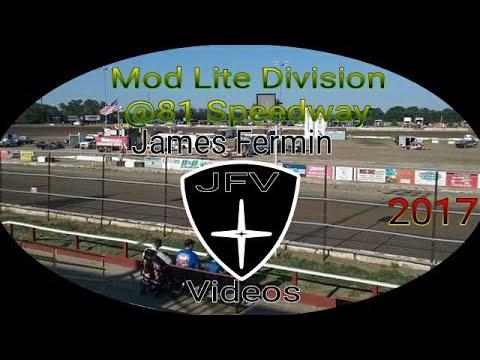 Mod Lites #27, Heat, 81 Speedway, 2017