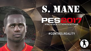 PES 2017 Face Build Sadio Mané (Liverpool FC)