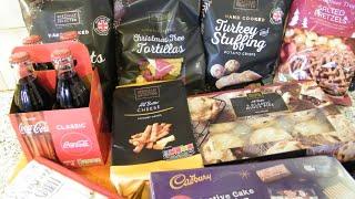 Aldi Haul and Poundland Haul December 2019 | Food Haul & Grocery Haul UK | Christmas Shopping Haul