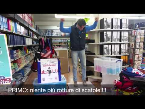 Buffeti Group Rome Store Testing the Strength of Really Useful Boxes