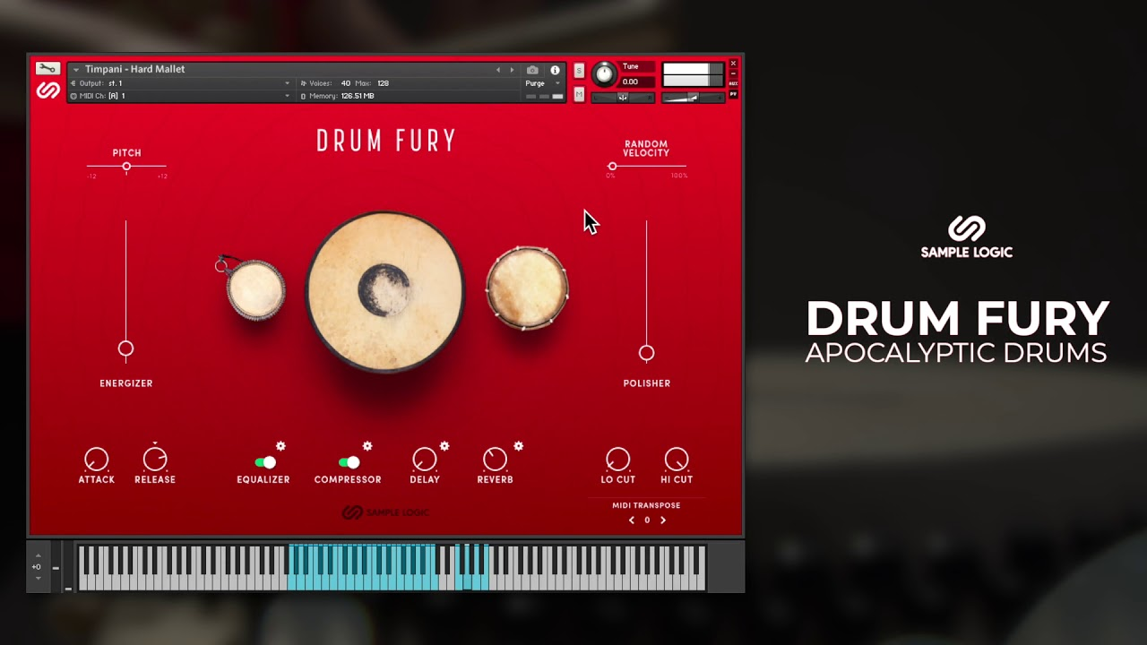 Sample Logic - Drum Fury (Review) - EPICOMPOSER