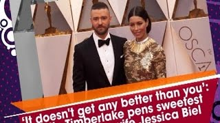 Justin Timberlake pens sweetest b'day note for wife Jessica Biel - ANI News
