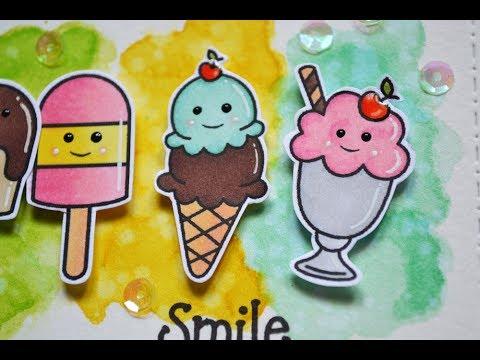 SUMMER CARD SERIES || Smile