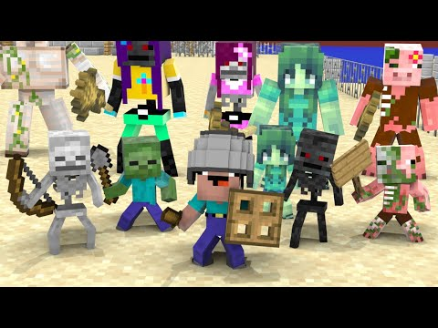 Monster School : Baby Noob Become A Hero - Minecraft Animation