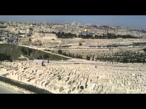 Jerusalem, Israel. Guide Part 1 (Mount of Olives, Garden of Gesthemane))
