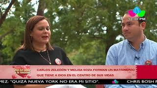 Carla Zeledón y Melisa Soza forman un matrimonio que tiene a Dios en el centro de sus vidas