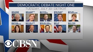 Lineups are for next 2020 Democratic debates