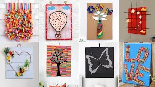 WOW !!! 10 Stunning Home Wall Decor || DIY Craft Ideas