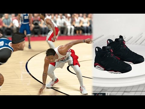 NBA 2k17 MyCAREER - Signature Varsity Red Jordan 6s! Center Popping 3s + Ankle Breaker on Derozan!