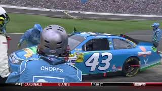 How Almirola Lost The 2012 Hollywood Casino 400