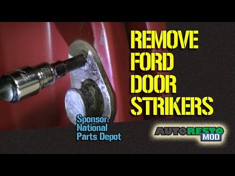 How to Replace Classic Ford Door Striker Episode 207 Autorestomod Autorestomod 1 & How to Replace Classic Ford Door Striker Episode 207 Autorestomod ...