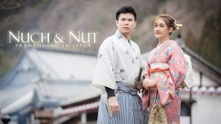 Nuch & Nut Prewedding in Japan