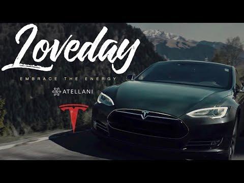 "Tesla Loveday ""EMBRACE THE ENERGY"""