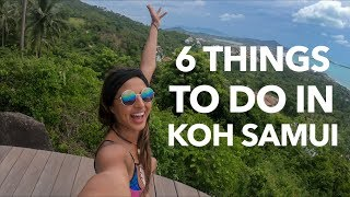 6 Things To Do In Koh Samui |Jungle Club, Fishermans Village,Lamai View Point, Fire Show, Coco Tams