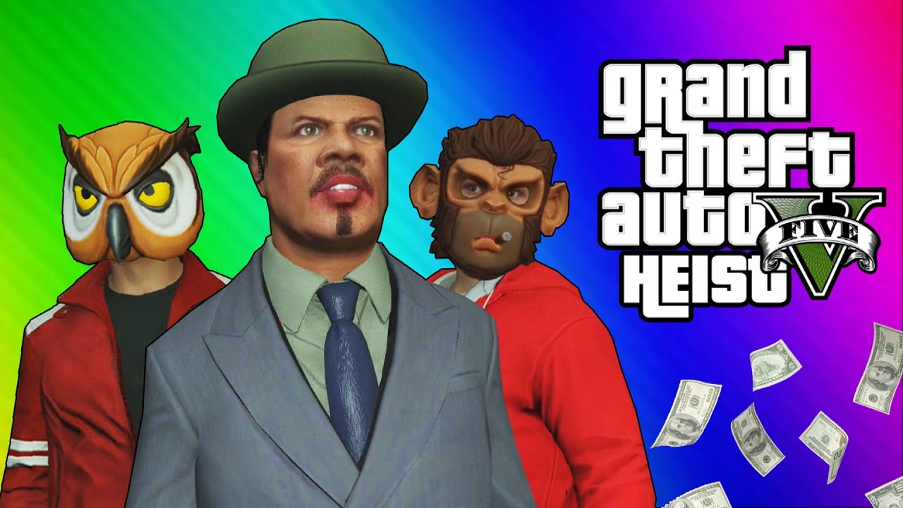Epic Blue Car Wallpapers Gta 5 Heists 2 Nogla S Outfits Amp Epic Car Chase Gta 5