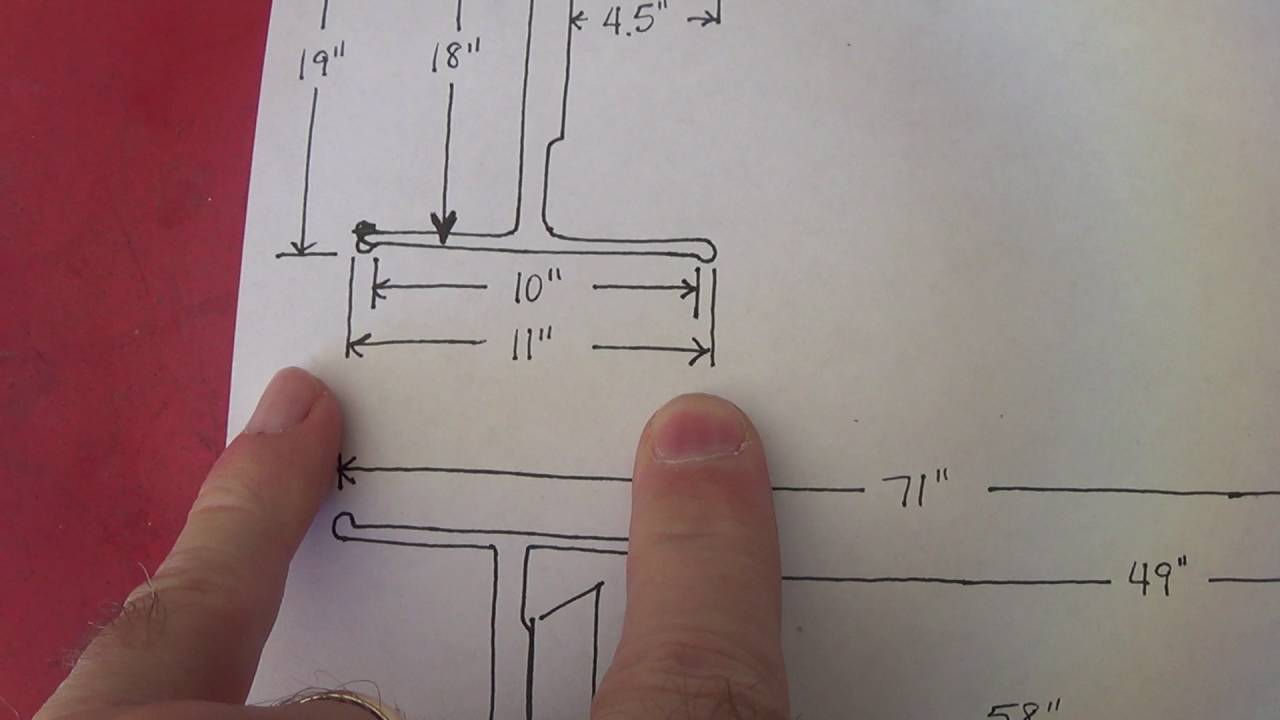 Back spacing, rear-end measurements, Moser rear end order