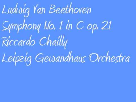 Ludwig Van Beethoven Riccardo Chailly Symphony no  1 in C