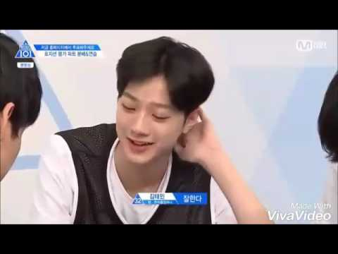 Lai guanlin Wanna One Produce 101 funny cute moment