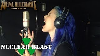 "METAL ALLEGIANCE - Alissa White-Gluz talks about the ""Fallen Heroes"" EP ( TRAILER)"