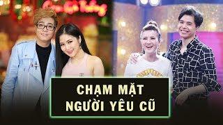 """Trịnh Thăng Bình, Hương Tràm """"Ngại Ngùng"""" Khi Gặp Lại Người Yêu Cũ Trên Truyền Hình"""
