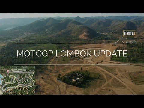 Sirkuit MotoGP Mandalika Lombok Indonesia, Update 11-2019