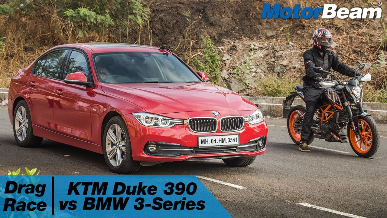 Ktm Duke 390 Vs Bmw 3 Series Car Vs Bike Episode 2 Motorbeam