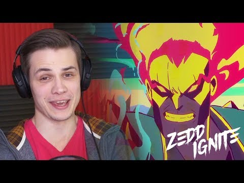 Zedd: Ignite | Worlds 2016 - League of Legends | РЕАКЦИЯ thumbnail