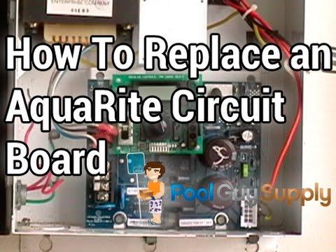 How to replace an AquaRite® Main Circuit Board PCBRITE  YouTube