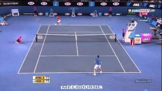 Australian Open 2010 - QF - Murray vs Nadal (HD) Part 1