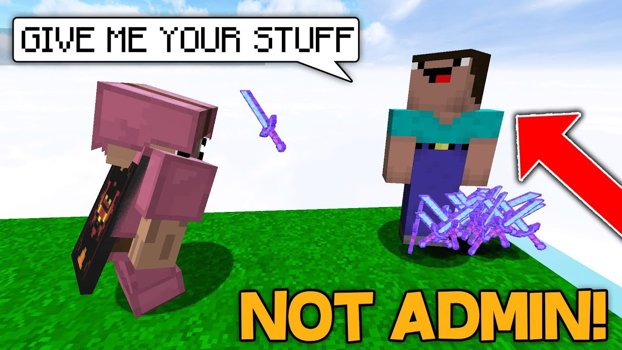 PRETENDING to be an ADMIN on a HUGE SERVER....