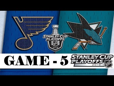 St. Louis Blues vs San Jose Sharks   Western Conference final   Game 5   Stanley Cup 2019   Обзор