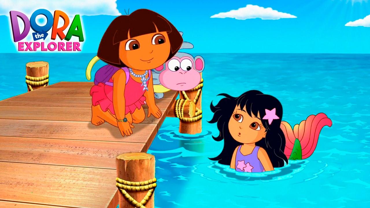 Dora S Mermaid Adventure Youtube
