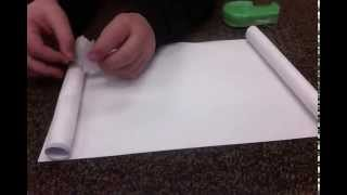 Easy Tutorials: How To Make A Paper Scroll