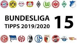 Bundesligatipps 15.Spieltag 2019/2020