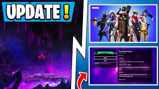 *NEW* Fortnite Update! | Dark Realm Portal, Halloween Rewards, Free Save the World!