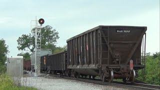 """Defect detector announces """"Integrity Failure"""" for CP train 474, Ottumwa Subdivision"""