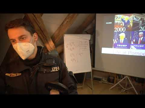 Dr. A. Noack während YT-Livestream verhaftet (längere Version)