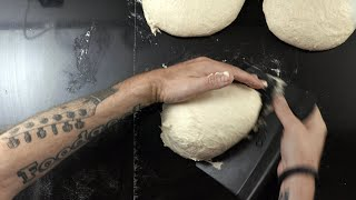 SHAPING high hydration DOUGH | Shaping SOURDOUGH bread HOWTO