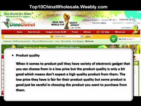 DinoDirect Review - China Drop Shipping Wholesale Websites
