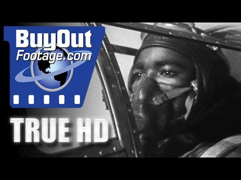 HD Historic Stock Footage WWII BLACK AND WHITE SOLDIERS UNITED