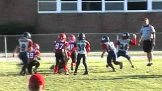 Brady's nice pass to Logan Skorupa for a BIG first down vs. Portage (9/2011)