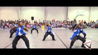 Holly Springs Mississippi hot steppers opens up for Dancing Dolls For Life DD4L