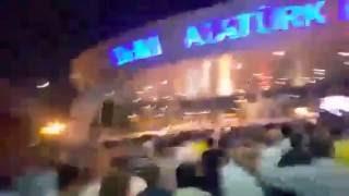Аэропорт Ататюрк. Переворот в Турции