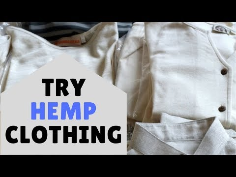 Want a Sustainable Closet? Try Hemp Clothing!