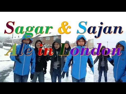 Sagar & Sajan Ale in London Visits Outdoor